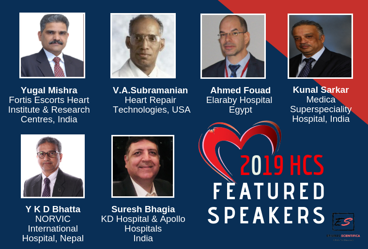 2019 HCS Heart Conference Goa_Features Speakers Banner