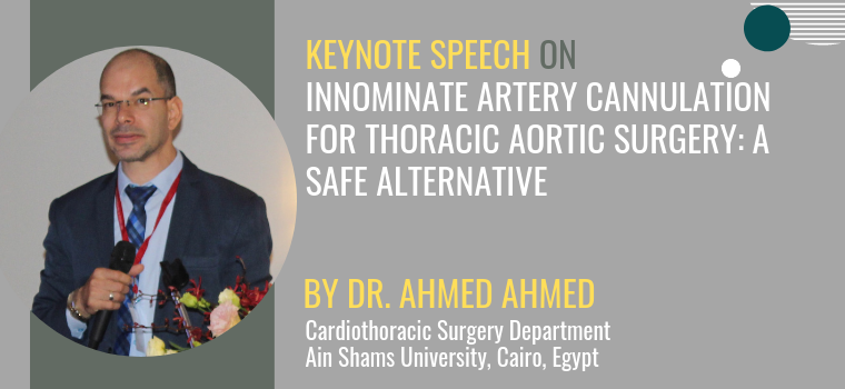 Dr. Ahmed Ahmed Keynote Speaker 2019 WHCS Heart Conference Singapore