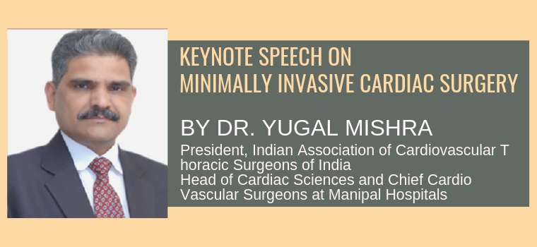 Dr. Yugal Mishra Keynote Speaker 2019 WHCS Heart Conference Singapore