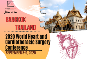 2020 World Heart and Cardiothoracic Surgery Conference, Bangkok Thailand September 2020-min
